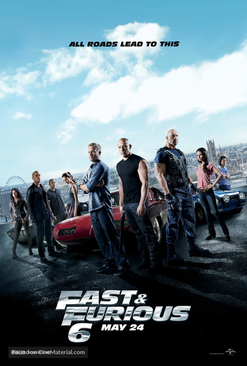 Furious 6 - Movie Poster