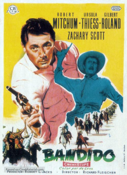 Bandido - Spanish Movie Poster