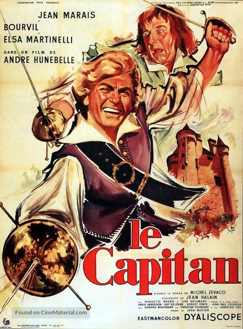 Le capitan - French Movie Poster