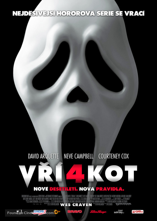 Scream 4 - Czech Movie Poster