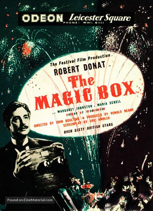 The Magic Box - British Movie Poster