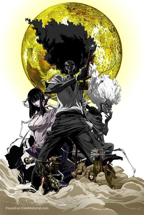 Afro Samurai - Movie Poster