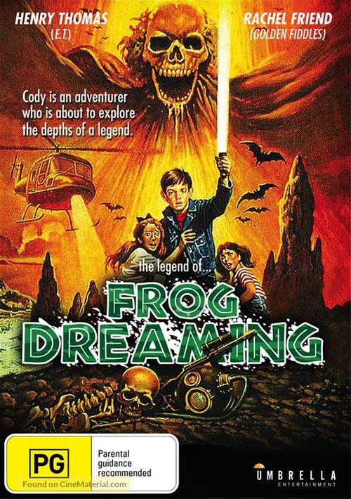 Frog Dreaming - Australian DVD movie cover
