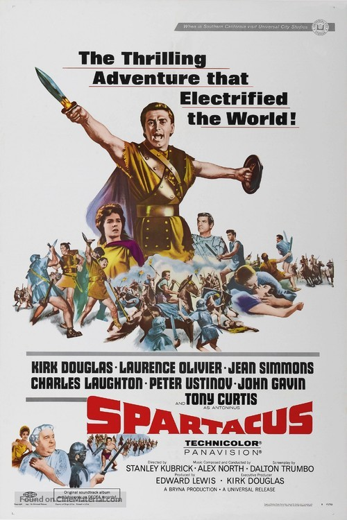 Spartacus - Movie Poster