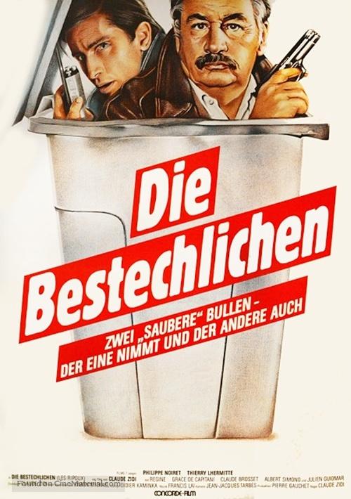 Les ripoux - German Movie Poster