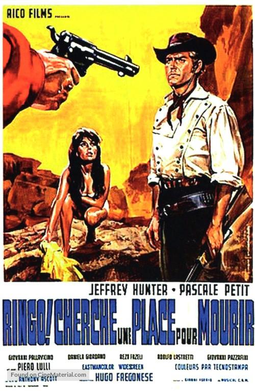 Joe... cercati un posto per morire! - French Movie Poster