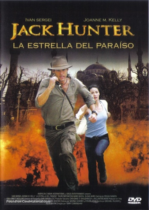 """Jack Hunter and the Lost Treasure of Ugarit"" - Mexican Movie Cover"