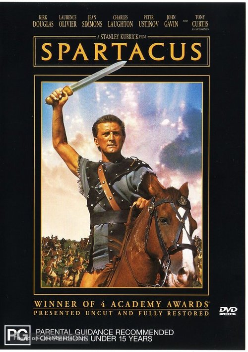 Spartacus - Australian Movie Cover