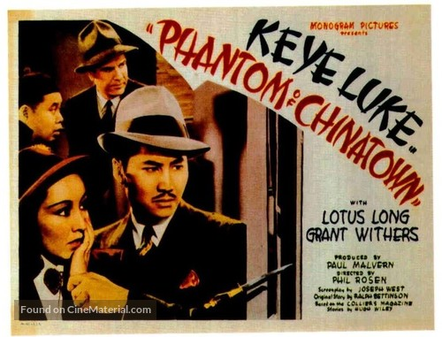 Phantom of Chinatown (1940) movie poster
