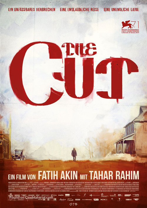 The Cut - German Movie Poster