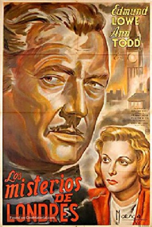 The Squeaker - Argentinian Movie Poster