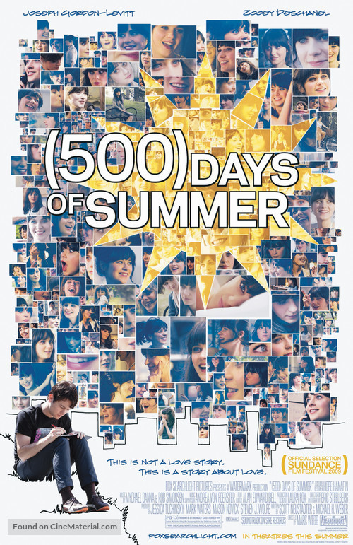 (500) Days of Summer - Movie Poster