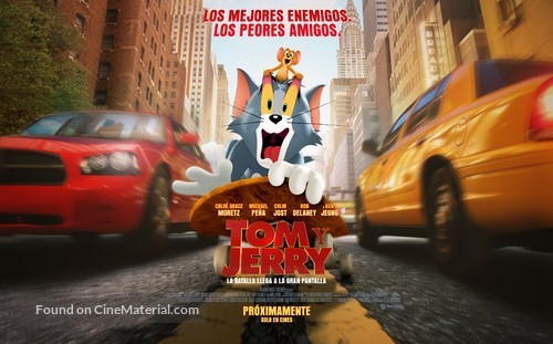 Tom and Jerry - Argentinian Movie Poster
