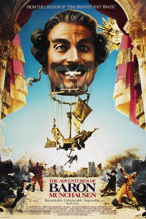 The Adventures of Baron Munchausen - Movie Poster