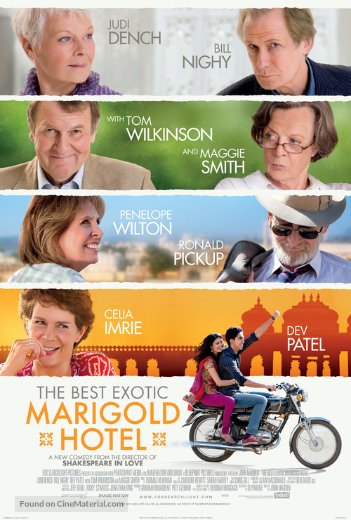 The Best Exotic Marigold Hotel - Movie Poster