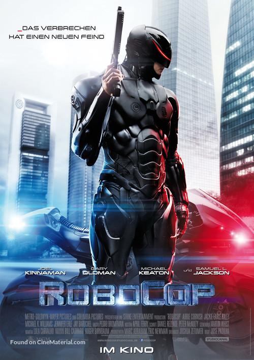 RoboCop - German Movie Poster