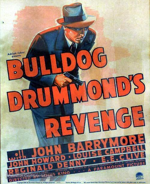 Bulldog Drummond's Revenge - Movie Poster