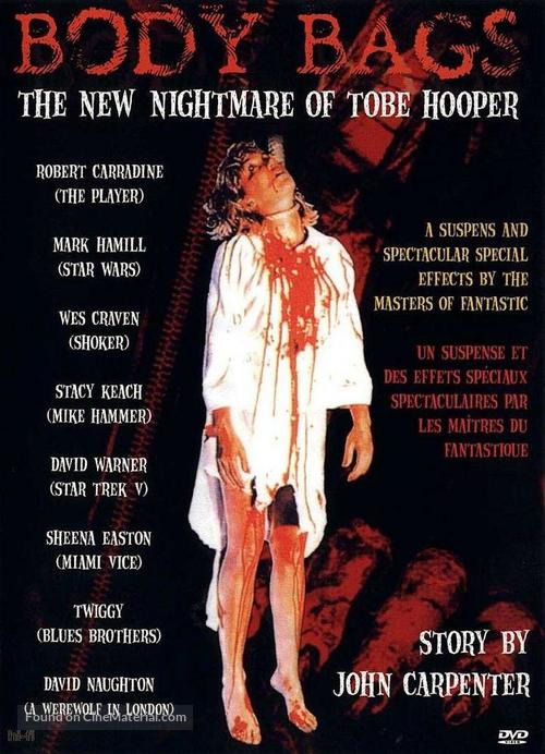 Body Bags - Canadian DVD movie cover
