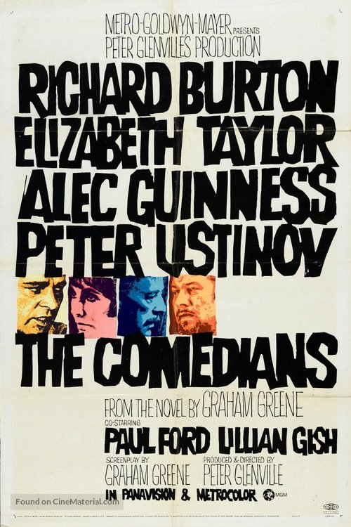 The Comedians - Movie Poster