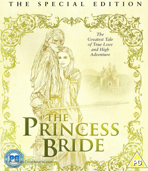 The Princess Bride - British Movie Cover
