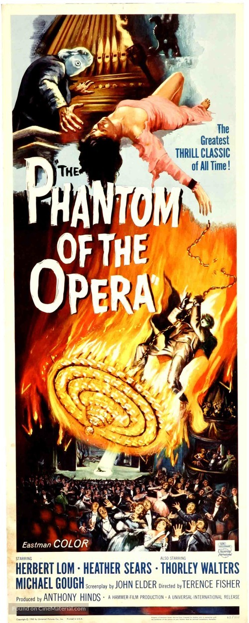 The Phantom of the Opera - Movie Poster