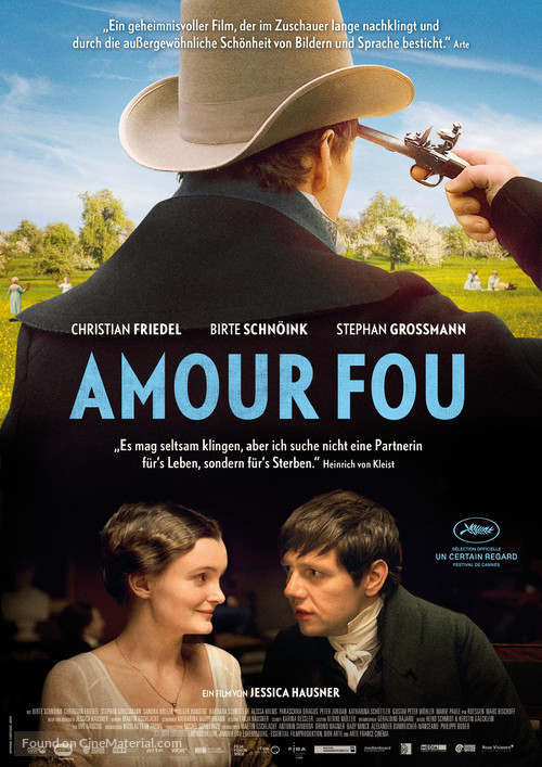 Amour fou - German Movie Poster