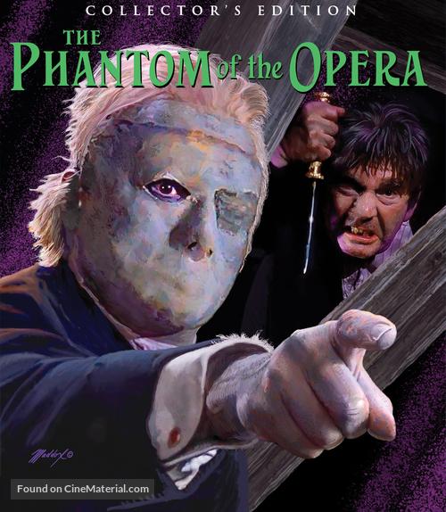 The Phantom of the Opera - Blu-Ray movie cover