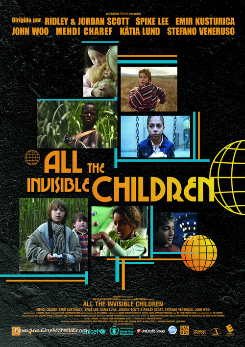 All the Invisible Children - Movie Poster
