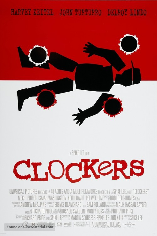 Clockers - Movie Poster