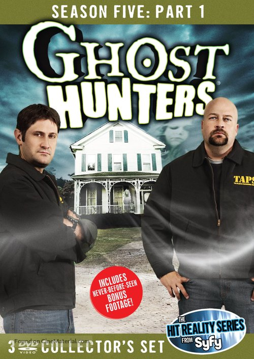 """""""Ghost Hunters"""" - DVD movie cover"""