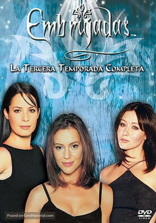 """Charmed"" - Spanish DVD movie cover"