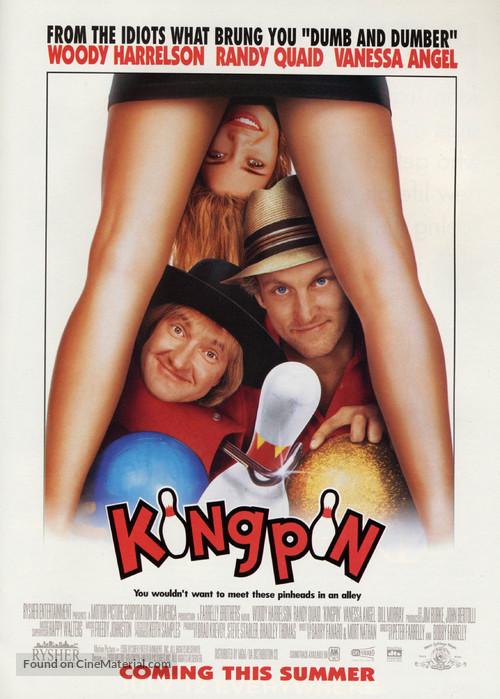 Kingpin - Advance movie poster