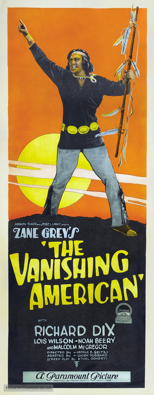 The Vanishing American - Movie Poster