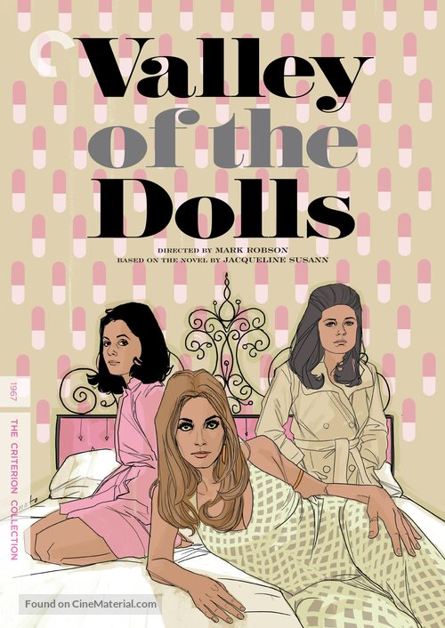 Valley of the Dolls - DVD movie cover