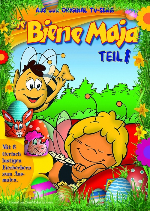 """Mitsubachi Maya no boken"" - German DVD movie cover"