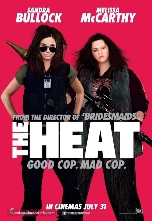 The Heat - British Movie Poster