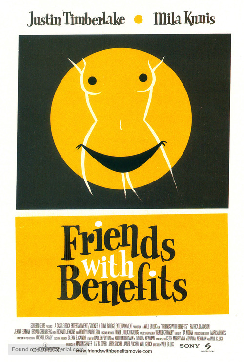 Friends with Benefits - Homage movie poster