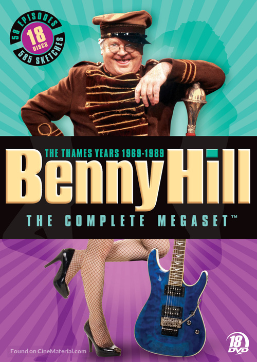 """""""Benny Hill"""" - DVD movie cover"""