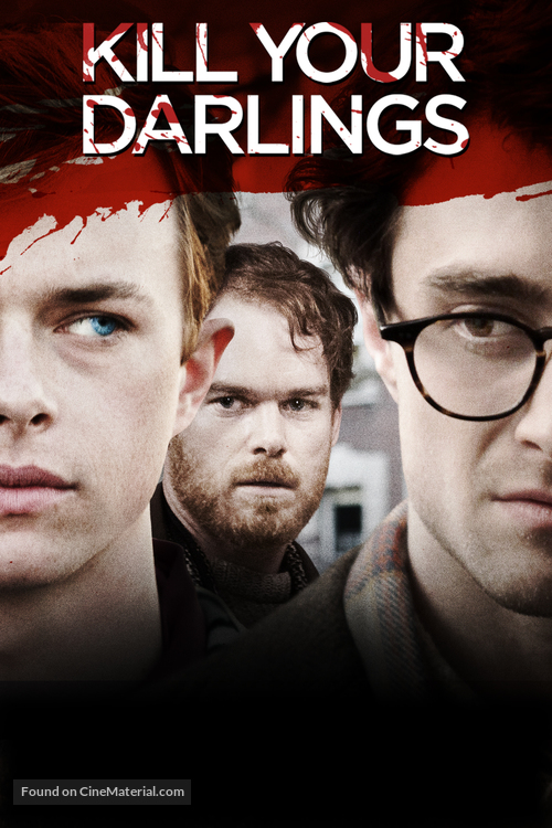 Kill Your Darlings - DVD movie cover
