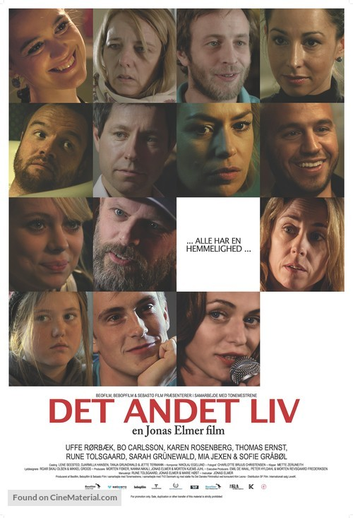 Det andet liv - Danish Movie Poster