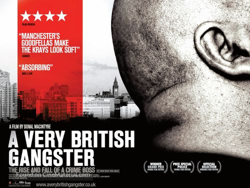 A Very British Gangster - British Movie Poster