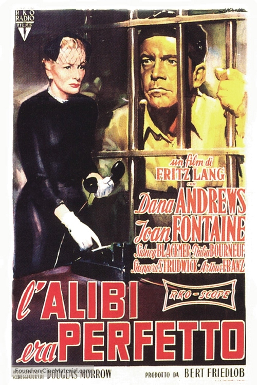 Beyond a Reasonable Doubt - Italian Movie Poster