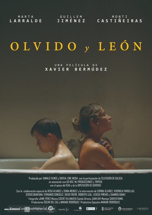 Olvido y León - Spanish Movie Poster
