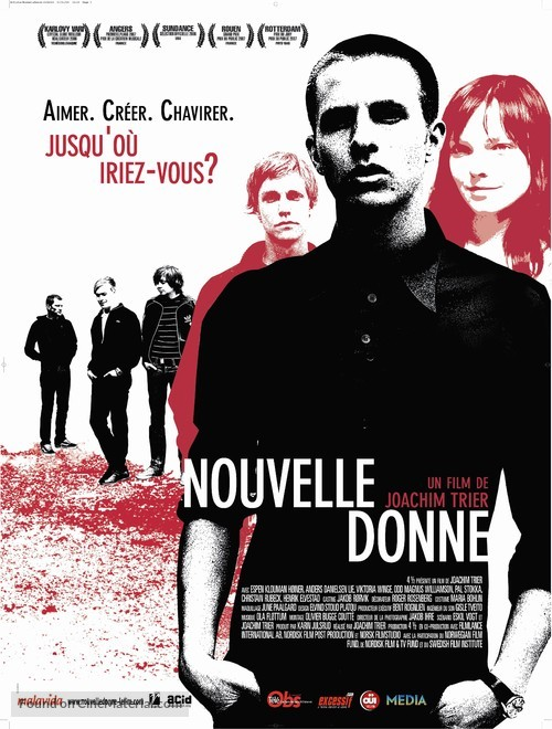 Reprise - French Movie Poster