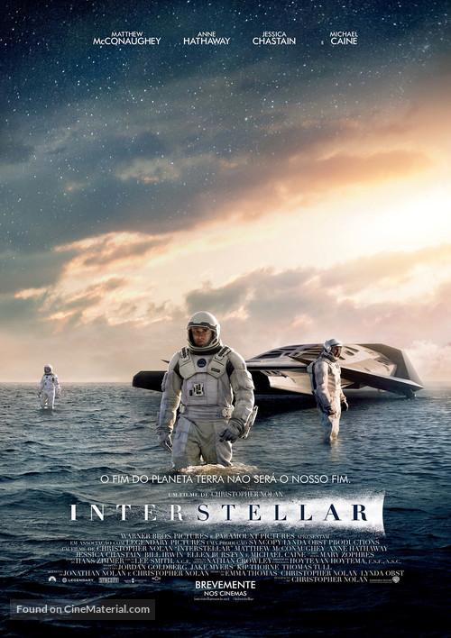 Interstellar - Portuguese Movie Poster