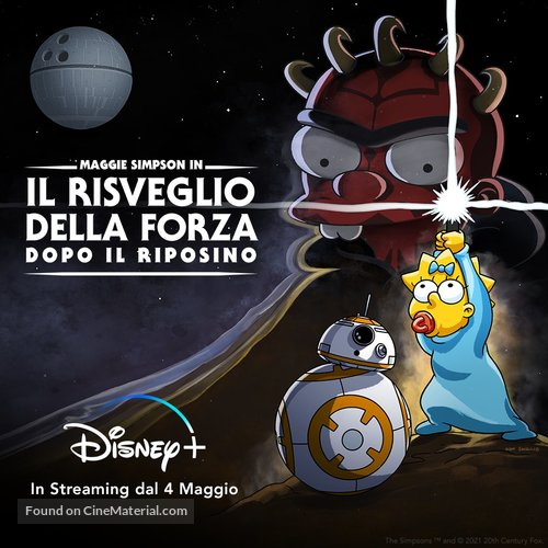 The Force Awakens from Its Nap - Italian Movie Poster