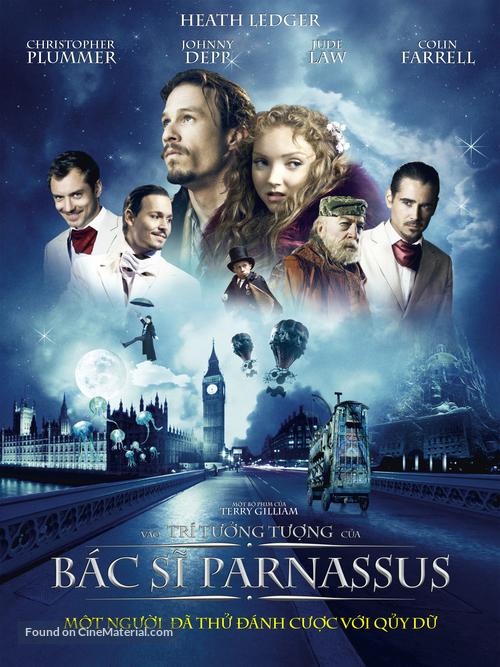 The Imaginarium of Doctor Parnassus - Vietnamese Movie Poster