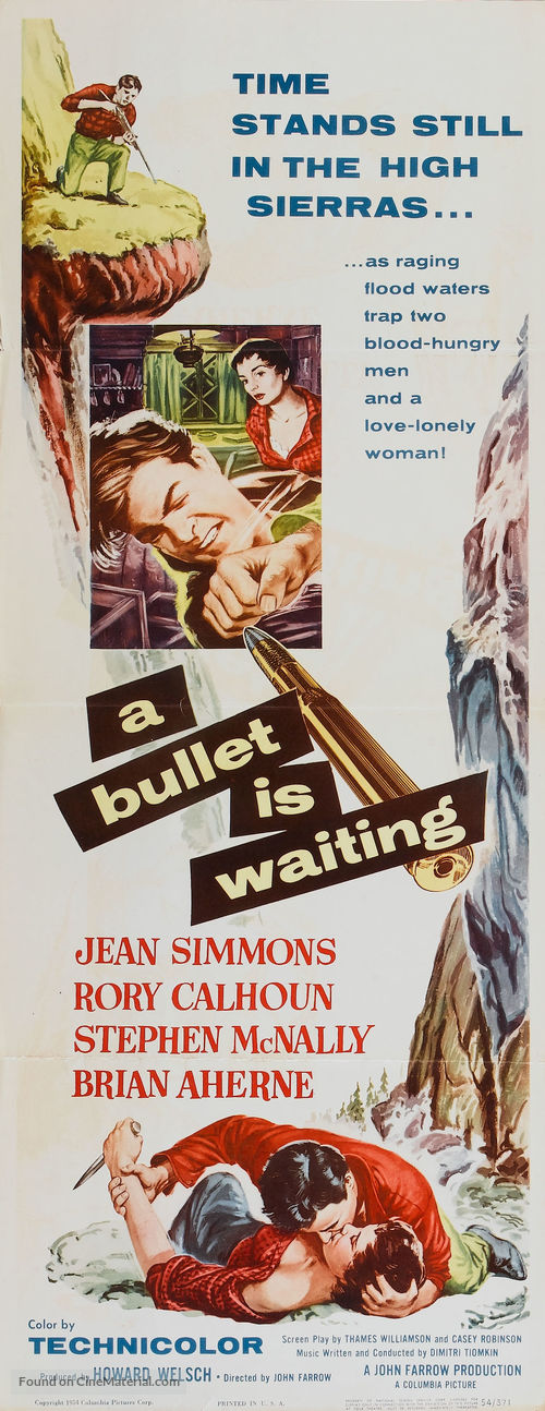 A Bullet Is Waiting - Movie Poster