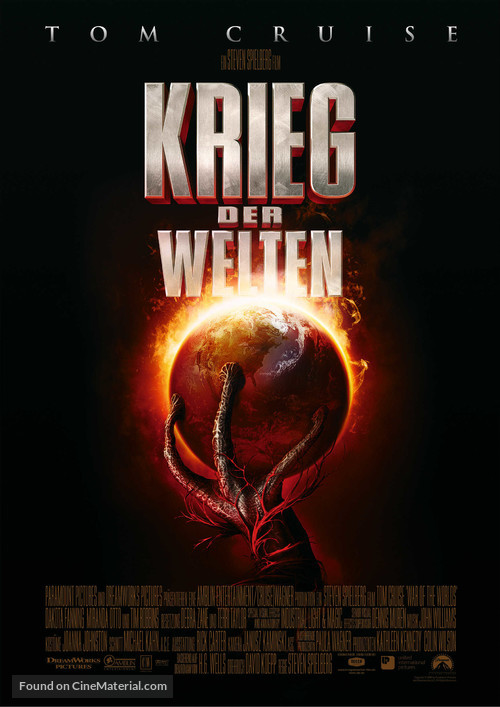 War of the Worlds - German Movie Poster