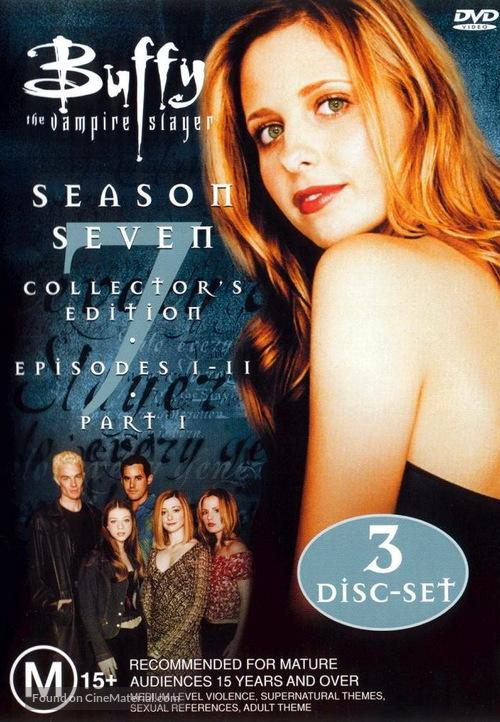 """Buffy the Vampire Slayer"" - Australian DVD movie cover"